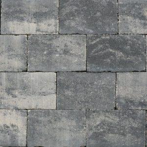 Abbeystones grijs zwart 20x30x6