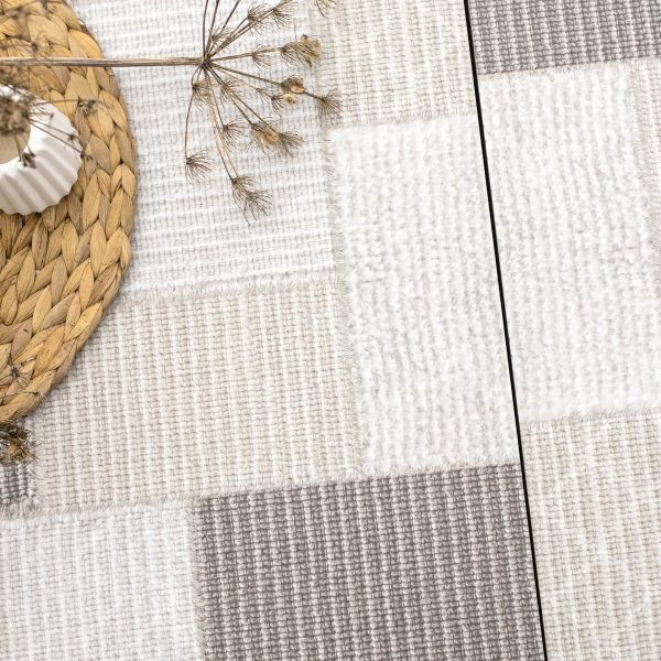 GeoCeramica-Canvas Boucle Patchwork sfeer 1